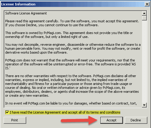 Computer Support and Services Software - User License